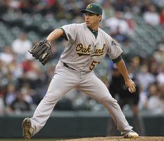 Tom Milone Oakland Athletics