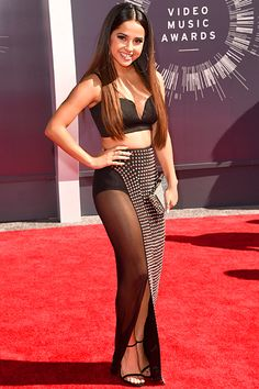 Becky G at the MTV Video Music Awards