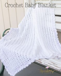 crochet baby blanket with free pattern