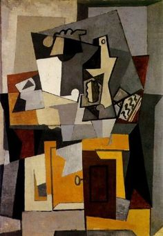 Pablo Picasso. Still life with a key. 1920 year: ...BTW, Please Check Out This Artist's Work -->: http://universalthroughput.imobileappsys.com/site2/
