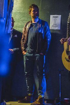 SXSW 2014 - leather jacket, desert boots