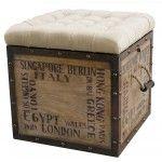 PULASKI Furniture - Rustic Chic 597014 Ottoman - 597014
