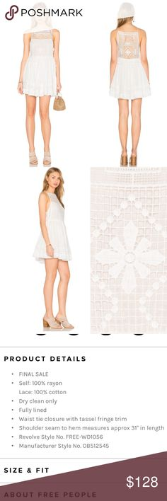 💥30% off 3+ item bundles💥 NWT! I personally own this in black and love it! I pair it with jeans. Please look to the last photo for description and details. Emily dress by free People Free People Dresses Mini