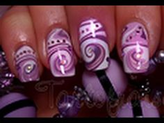 Mable swirl nails - I have done this - water needs to be room temp; for best outcome use matte colors versus metallic colors...