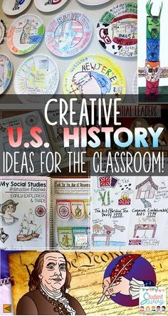 United States History Activities That Your Students Will Lov.-United States History Activities That Your Students Will Love! – Student Savvy Creative US History Lessons and Ideas for Students - 6th Grade Social Studies, Social Studies Classroom, Social Studies Activities, History Activities, Social Studies Projects 5th, Teaching Social Studies, Class Activities, Creative Activities, Classroom Activities