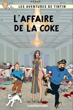 Les Aventures de Tintin - Album Imaginaire - L'Affaire de la Coke