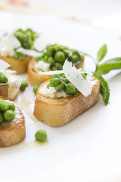 Eat your peas! Honestly, I've always been a pea lover. Especially when they're steamed, rolled