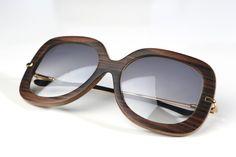 Precious Wood Sunglasses--Style 312W Macassar Ebony by iWood ecodesign