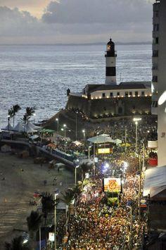 Fim de tarde de hoje... Carnaval em Salvador #Carnaval2013