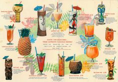 Tiki bar menu - mlkshk
