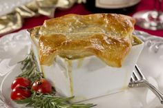 Make your own award-worthy chicken pot pie with puff pastry. This shortcut version of Oscar-inspired chicken pot pie is single-serve and delicious! Individual Chicken Pot Pies, Food Test, Cream Of Chicken Soup, Chicken Recipes, Turkey Recipes, Chicken Ideas, Cooking Recipes, Pastry Recipes, Meal Recipes