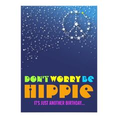 Hippie Gifts On Zazzle 60th Birthday Party