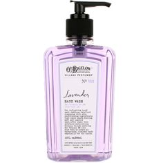 C.O. BIGELOW Lavender Hand Wash ($14) ❤ liked on Polyvore featuring beauty products, bath & body products, beauty, body and c.o. bigelow