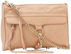 Price:	$215.97 | Rebecca Minkoff Mac Woven With Light Gold Hardware 10CIWMCRE2 #Clutch | Color: Sand | Leather nylon lining. Made in China.