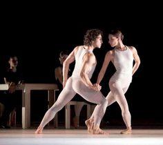 """Compositie"" Partener Julie Thirault, Choreography Hans van Manen  Gert Weigelt"