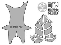 Zelda : Breath of the Wild: Korok DIY Plush. This series of videos will teach you how to make your own Props, Items and Memorabilia from your favourite games. This DIY project will teach you how to make a  little Korok plush from Zelda Breath of the Wild. There are 900 of these guys throughout Hyrule, with several different designs. I went with this leaf design because I seem to encounter it the most (and it's my favourite as it looks like a moustache )