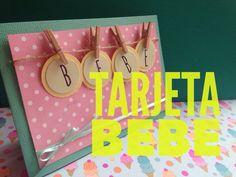 TUTORIAL Tarjeta bebé/Baby Card