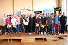 Freisprechung Rathaus Stralsund Gruppenfoto