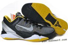 Nike Zoom Kobe 7 Shoes Black Tour Yellow