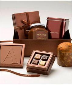 Armani Dolci chocolates   packaging