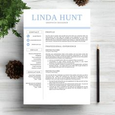 Resume Templates Professional Resume Template CV by Indograph on @creativemarket