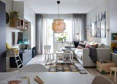 If there's one thing that unites us design lovers, it's IKEA. Be it for first apartments or small spaces, the retailer is a universal favorite, seamlessly inte Ikea Design, Canapé Design, Deco Design, Small Apartments, Small Spaces, Catalogue Ikea, Dispositions Chambre, Best Sleeper Sofa, Ikea Home