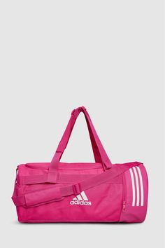 50c770b47566 Mens adidas Pink Duffle Bag - Pink  pinkbagsuk