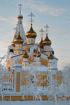 Preobrazhensky cathedral in Yakutsk, Russia                                                                                                                                                                                 Más
