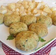 Polpette di platessa con zucchine e patate