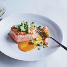 This recipe calls for a salmon roast—a large chunk cut from the widest end of the fish (right behind the head). You will need to special-order it fr...