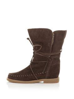 Little Nell Faux Fur Boot