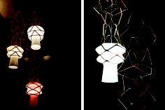 Stelle Filanti lamp designed by Atelier Oi for Italian company Venini