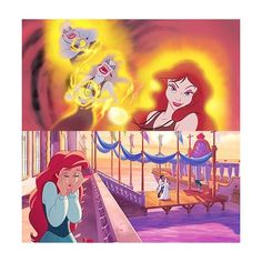 Ariel Lover, disneygoldmine: I love this artwork from The... ❤ liked on Polyvore featuring home, home decor, wall art, mermaid home decor, sea wall art, little mermaid home decor, ocean home decor and little mermaid wall art