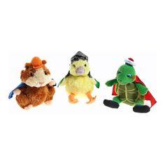 Wonder Pets Beanie Babies $9