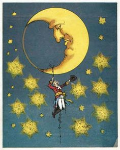 hanging from the moon - Google Search