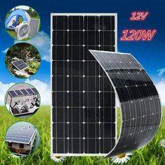 Elfeland A-Class Monocrystalline Semi Flexible Solar Panel + Cable Solar Energy Panels, Best Solar Panels, Solar Energy System, Solar Power, Solar Shingles, Asphalt Roof Shingles, Solar Panel Battery, Solar Roof Tiles, Charger For Sale