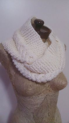 Handknit scarf cable knit scarf knit men scarf cable by AtlasScarf