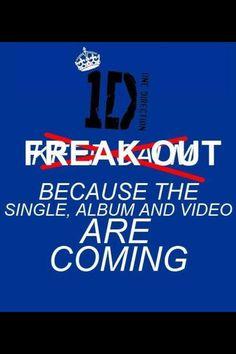 Freakin' out!