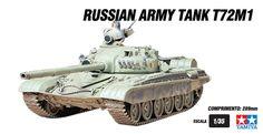 Russian Army Tank T72M1
