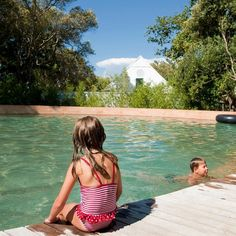 Summertime at Babylonstoren in the Cape Winelands, equals loads of fun for the whole family! A dip in the pool is a must when visiting the Garden Spa for a pampering day. VISIT US for an ideal day with fun family-friendly activities. | Babylonstoren | Franschhoek | Cape Town | Things To Do In Franschhoek | Travel With Kids | Parent-Friendly | Summer | Pool Day #babylonstoren #franschhoek #capetown #travelwithkids #parentfriendly #familyvacation #summer #familyfun Chill Room, Cool Swimming Pools, Outdoor Spa, Summer Pool, Pool Days, Spa Day, Travel With Kids, Cape Town, Garden Inspiration