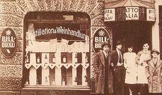Das Restaurant Cuneo in der Davidstraße 11 auf Hamburg-St. Pauli, es ist das erste italienische Restaurant der Hansestadt und wird von Francesco Antonio Cuneo eröffnet. Das Bild zeigt den Tag der Eröffnung, den 5. Mai 1905.