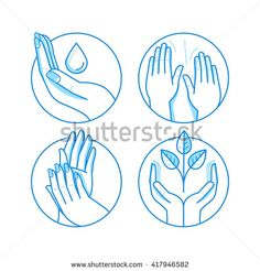 Vector set of icons and illustrations in linear style – massage related emblems and logo design templates – therapy and beauty salon concepts, alternative medicine health centers Massage Logo, Massage Envy, Roofing Logo, Health Center, Illustrations, Logo Design Template, Alternative Medicine, Logo Inspiration, Concept