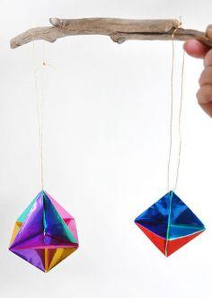 DIY: Holiday Origami