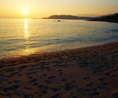 Camping A Marina Westküste  Nördlich von Ajaccio Camping 3, Celestial, Sunset, Beach, Water, Outdoor, Corse, The Beach, Gripe Water
