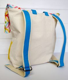 DIY Canvas Back Pack Project for Back to School!