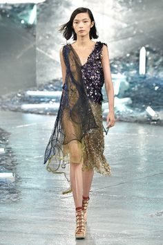 Rodarte Gives Us Another Beautifully Ethereal Collection for S/S 15 | WhoWhatWear.com