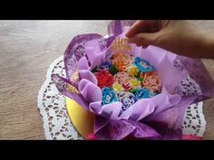 How to make Hand Bouquete pudding / Puding Buket Bunga Hand Bouquet, Jelly, Pudding, Hands, Make It Yourself, Breakfast, How To Make, Food, Youtube