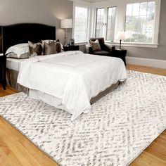 Blue Master Bedroom, King Bedroom Sets, Playroom Furniture, Furniture Sets, Rug Size King Bed, Rug Under Bed, Plush Area Rugs, Natural Area Rugs, Room Carpet
