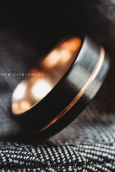 Halcyon Black Rose Men's Wedding Band | 50 to 70% Off All Men's Rings