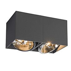 Strahler Box 2 dunkelgrau - 91544